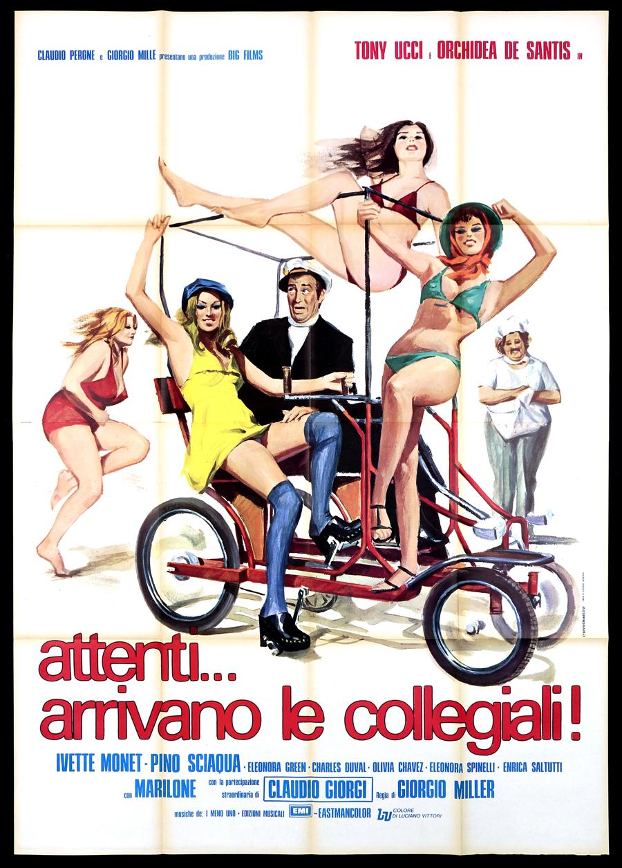 attenti arrivano le collegiali 1975