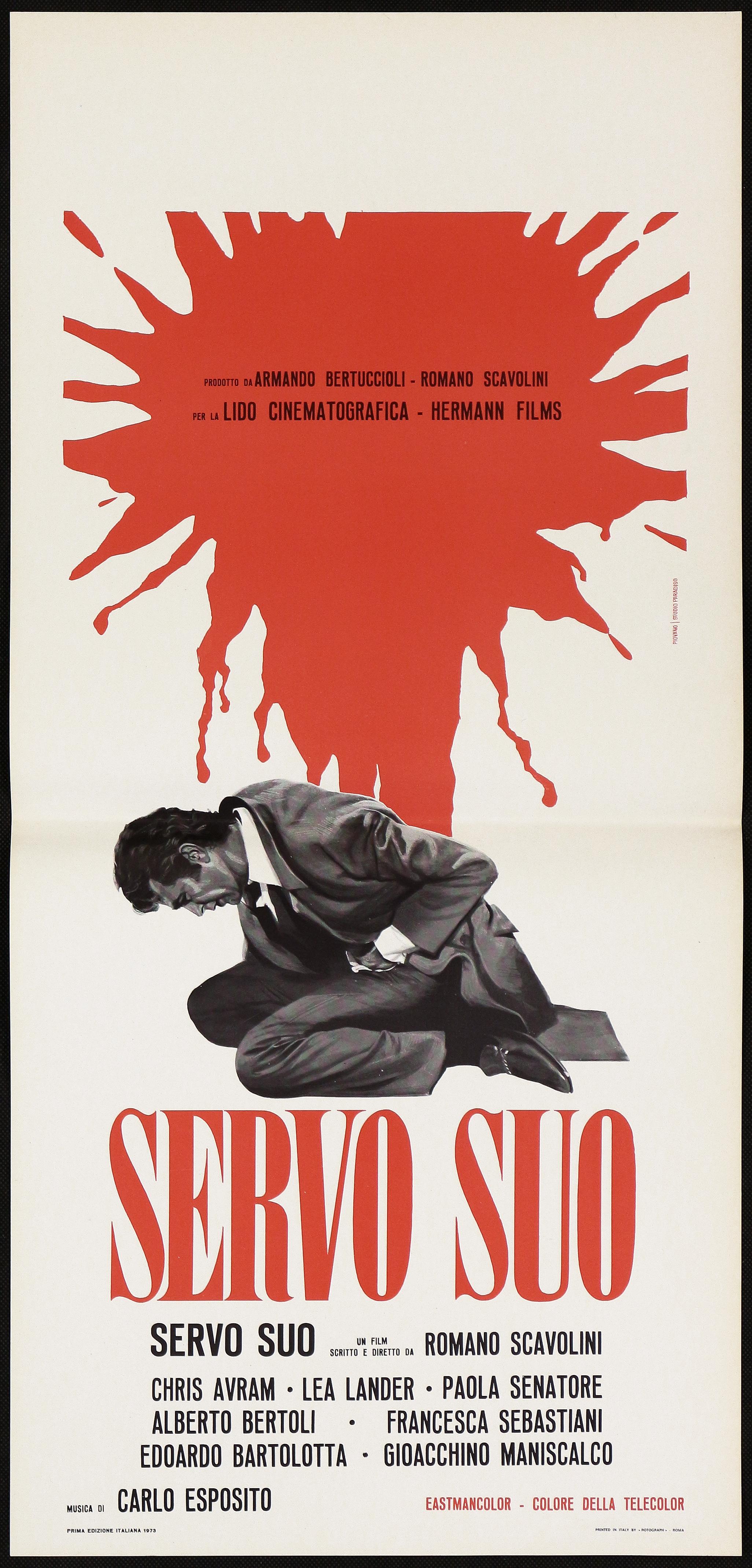 Paola Senatore dettagli su servo suo locandina cinema thriller piovano paola senatore 1973 playbill poster